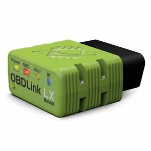 OBDLink 427201 LX Bluetooth Scanner FOR PC ANDROID FREE SOFTWARE & OBDLINK APP