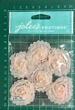 JOLEE'S BOUTIQUE DIMENSIONAL STICKERS ~PINK SMALL FLORALS