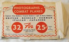 PHOTOGRAPHS of COMBAT PLANES 1940'S 30 Pics, FREE SHIPPING