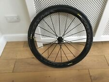 Mavic Cosmic Pro Carbon Exalith Rim Brake Clincher rear wheel, 700c