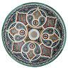 Orientalisches Aufsatzwaschbecken Handbemalt aus Keramik Waschbecken D41cm FES-X
