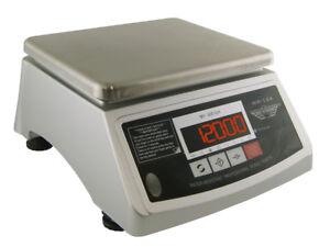MyWeigh WR12K Digitale Balance de Cuisine Hydrofuge Étanche 12kg/1g