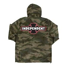 Independent Trucks Ogbc Patch Hooded Windbreaker Jacket Camo Xl