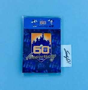 Disneyland 60th Diamond Anniversary Pin HTF ( NEW )