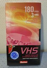 K7 / Cassette VHS 180min/3HRS Spécial enregistrements fréquents
