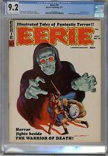 Eerie  #10  CGC  9.2  NM-  Magazine Off wht-wht pgs 7/67  Gray Morrow cover. Mon