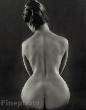1971 RUTH BERNHARD Photo Litho Plate FEMALE NUDE Art ~ Ltd Ed 11x14 FRAME READY