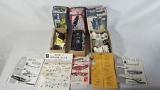 AMT 1/25 Model Kits Lot 3 Boxes with Mixed Parts 60's Mercury Model T Corvette
