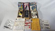 AMT 1/25 Model Kits Lot 3 Boxes with Mixed Parts 60's Mercury Model T Corvette