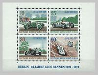BRD Berlin Jahrgang:1971 Mi. 397 - 400** Block 3 postfrisch LUXUS