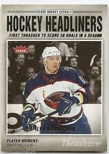 06/07 FLEER HOCKEY HEADLINERS Ilya Kovalchuk #HL8