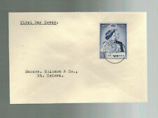 1948 Saint Helena first day cover FDC # 131 Scarce