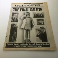 NY Daily News 7/24/99 Friends Family Celebrates Lives JFK John & Carolyn Kennedy