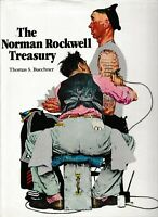 THE NORMAN ROCKWELL TREASURY by THOMAS S BUECHNER hc/dj 1987