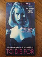 To Do For VHS 1995 Comedy Crime Drama Nicole Kidman Matt Dillon Free Shipping