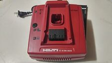 HILTI C 4/36-ACS 120v Li-ion Charger Auto Cooling System (USED)