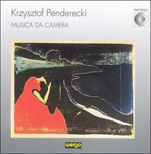 Krzysztof Penderecki: Musica da Camera CD GERMAN IMPORT WERGO