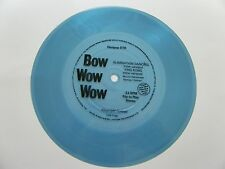 "BOW WOW WOW ELIMINATION DANCING/ KING KONG FLEXIPOP 018 7"" 331/3 RPM FLEXI-DISC"