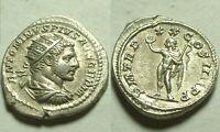Rare original Ancient Roman silver Coin antoninianus Caracalla sol/EF/Superb/217