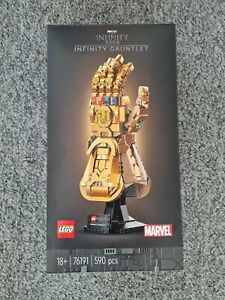 Lego Marvel Infinity Gauntlet 76191 Brand New In Sealed And Unopened Box