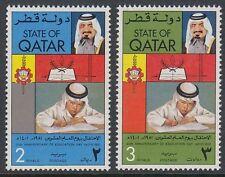 Qatar 1981 ** Mi.804/05 Bildung Education Schule School