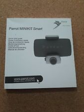 PARROT HANDS FREE MINIKIT SMART INSTRUCTION BOOKLET MANUAL USER GUIDE