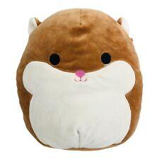 "New listing Squishmallow Humphrey Hamster 8"" Brown White Stuffed Plush Animal Toy Squish"