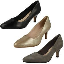 Scarpe da donna slim Clarks tacco medio ( 3,9-7 cm )