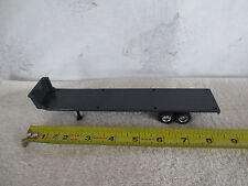 ERTL 1/64 SCALE DIECAST GREY TANDEM AXLE FLAT BED TRAILER
