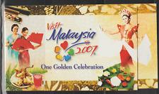 (361B)MALAYSIA 2007 VISIT MALAYSIA YEAR BOOKLET FRESH MNH. CAT RM 15
