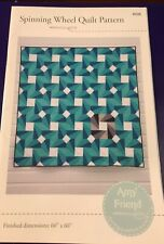 """""""Spinning Wheel"""" Quilt Pattern 60"""" x 60"""" ~ by Amy Friend ~ New!"""