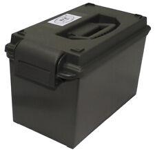 Mfh US caisse de munition Plastique Cal. 50 mm Vert Olive