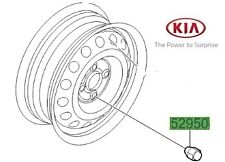 Genuine Kia Ceed 2012-2016 Alloy Wheel Nut 5295014140