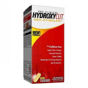 MuscleTech Hydroxycut Pro Clinical Non-Stimulant 💥Weight Loss Formula 💥144Caps