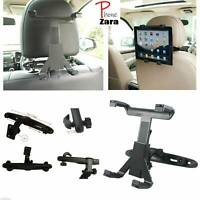 "Adjustable Universal In Car Headrest Seat Mount Holder For iPad Tablet 6"" To 11"""