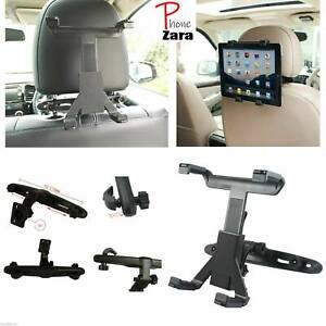 """Adjustable Universal In Car Headrest Seat Mount Holder For iPad Tablet 6"""" To 11"""""""