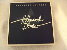 Premier Edition Hollywood Domino Game Contents Sealed