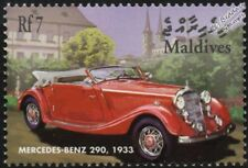 1933 MERCEDES-BENZ 290 Cabriolet A (W18) Automobile Car Stamp (2001 Maldives)