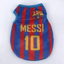 FC Barcelona Messi Dog Football T-Shirt Sport Summer