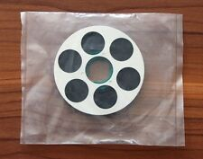1 x NAGRA SN SNN SNST SNST-R METAL REEL BOTH SIDES SILVER ! NEW wiht TAPE !!