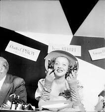 Yvonne HEBERT 1952 - Actrice Pub St Raphaël - Négatif 6 x 6 - 113