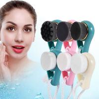 Deep Cleansing Facial Brush Compact Skin Soft Massage Facial Brush Face Care
