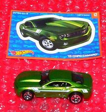 2017 Hot Wheels  Mystery Models #12  '13 COPO CAMARO  UNOPENED  DVY84-0318