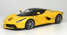 Hot Wheels Elite Ferrari LaFerrari 2013 Yellow BCT81 1/18 Limited Edition