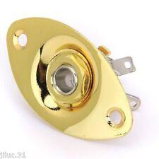 NEW Output Plate OVALE gold complet pour guitare électrique
