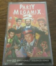 "Party Megamix 2 ""Over 80 Sequenced Songs"" NEW & SEALED Tape Cassette"