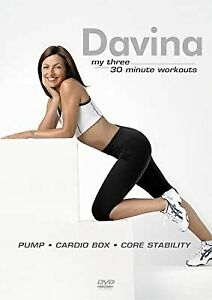 Davina - My Three 30 Minute Workouts [DVD] [2005], , Used; Good DVD