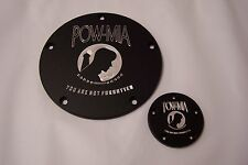 Twin Cam Derby-points cover set Fits Harley Davidson POW