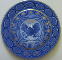 """Bing and Grondahl, Bicentennial plate """"United States Independence, 1776-1976"""""""