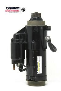 BRP O.E.M. Starter Motor # 0587291 - 0587485 Evinrude / Johnson